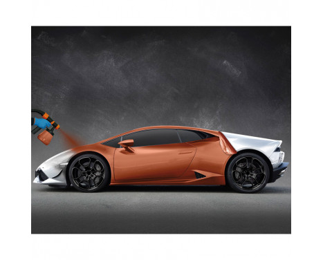 Foliatec Spray System - copper metallic mat - Spray gun - Kompressor - 12m hose - 2x5litre + 500m, Image 5