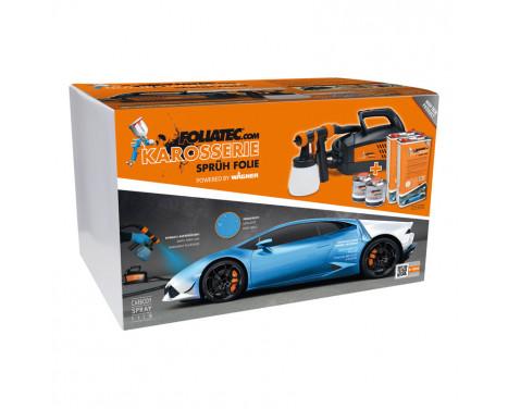 Foliatec Spray System - urban silver metallic mat - Spray gun - Kompressor - 12m hose - 2x5litre, Image 3
