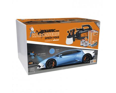 Foliatec Spray System - white mat - Spray gun - Kompressor - 12m hose - 2x5litre + 500ml thinner, Image 2
