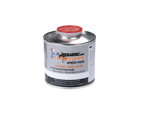Foliatec Thinner for Car Body Spray Film 1x500ml