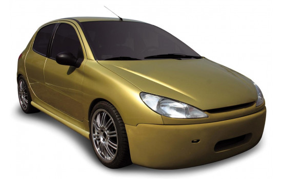Carzone Front bumper Peugeot 206 Excl. GTi 'Shaver'