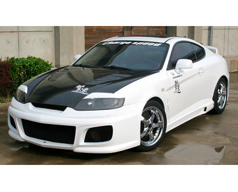 Chargespeed Front bumper Hyundai Coupe GK 2002- (FRP)