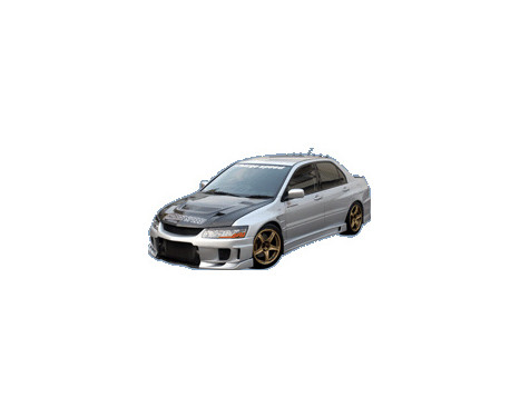 Chargespeed Front bumper Mitsubishi Lancer EVO 8/9 CT9A Type2 (FRP)