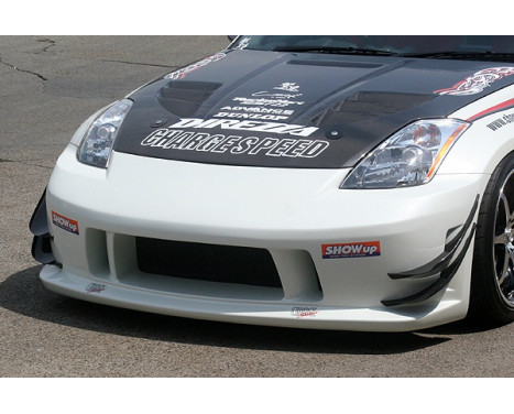 Chargespeed Front bumper Nissan 350Z Z33 Type1 (FRP) (only in combination with previous reflectors), Image 2