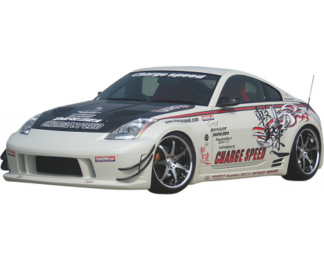 Chargespeed Front bumper Nissan 350Z Z33 Type1 (FRP) (only in combination with previous reflectors), Image 3