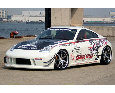Chargespeed Front bumper Nissan 350Z Z33 Type1 (FRP) (only in combination with previous reflectors)