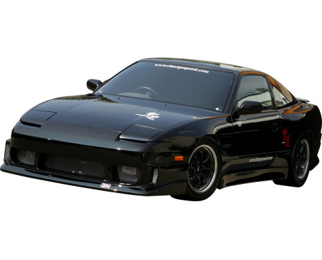 Chargespeed Front bumper Nissan RPS13 180SX 2nd / 3rd Series (FRP), Image 2