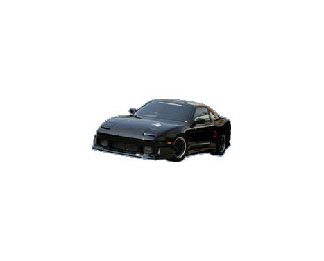 Chargespeed Front bumper Nissan RPS13 180SX 2nd / 3rd Series (FRP)