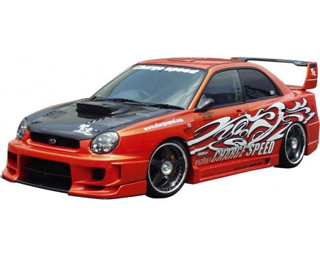 Chargespeed Front bumper Subaru Impreza GD # (A / B) Type2 + straight flap, Image 2