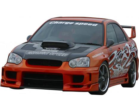 Chargespeed Front bumper Subaru Impreza GD # (C / D / E) Type2 + straight flap, Image 2