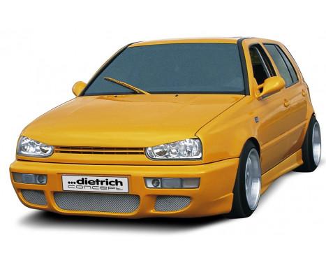 Dietrich Front bumper Golf III + Cabrio III 1991-1997