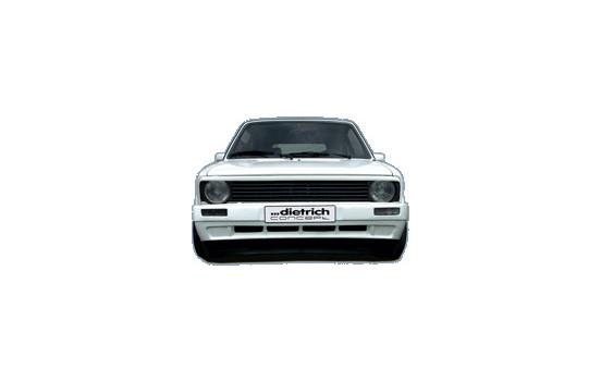 Dietrich Front bumper Volkswagen Golf I & Cabrio 8 / 1974-