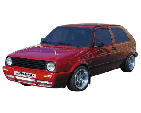 Dietrich Front bumper Volkswagen Golf II 1983-1991 'GT-Look'