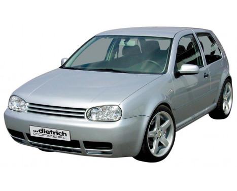 Dietrich Front bumper Volkswagen Golf IV 1998-2003 'Clean-Look'