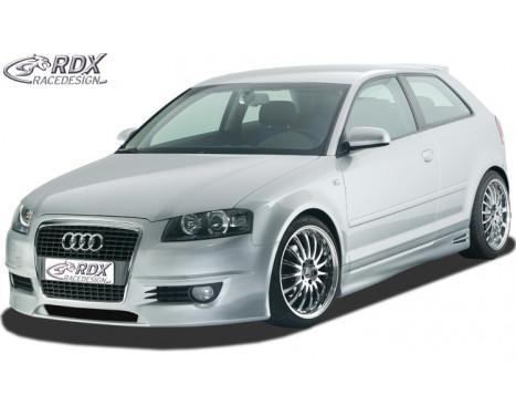 Front bumper + SWR Audi A3 8P 3 doors 2003-2005 'SingleFrame 1' (GFK)