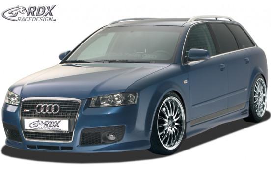 Front bumper + SWR Audi A4 B6 / 8E 2001-2004 'SingleFrame' (GFK)