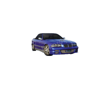 IBherdesign Front bumper BMW 3-Series E36 Coupe incl Grill 'Revolution'
