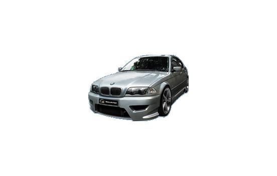 IBherdesign Front bumper BMW 3-Series E46 Tarchon Incl. Mesh