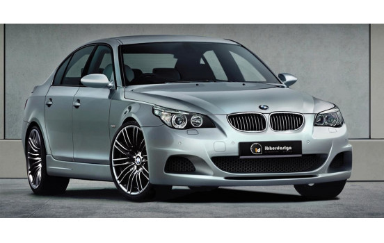IBherdesign Front bumper BMW 5-Series E60 / E61 7 / 2003- Sedan / Touring 'Kaiet' Incl. PDC / Headlight washers