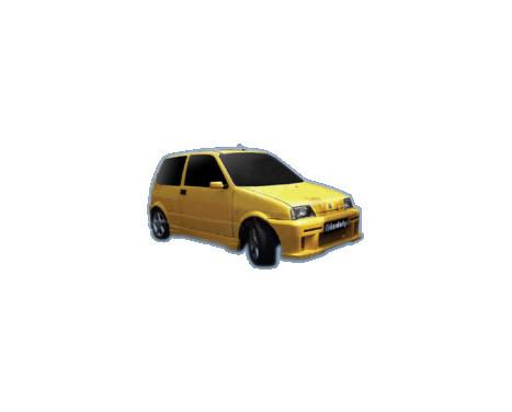 IBherdesign Front bumper Fiat Cinquecento 'Savage'