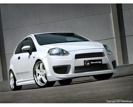 IBherdesign Front bumper Fiat Grande Punto 11 / 2005- 'X-Tream'