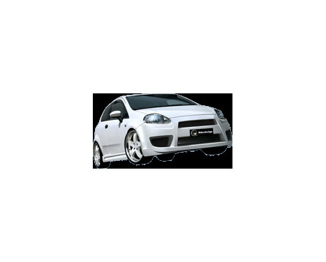 IBherdesign Front bumper Fiat Grande Punto 11 / 2005- 'X-Tream', Image 2