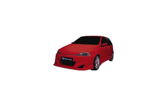 IBherdesign Front bumper Fiat Punto I 1993-1999 'Extreme'