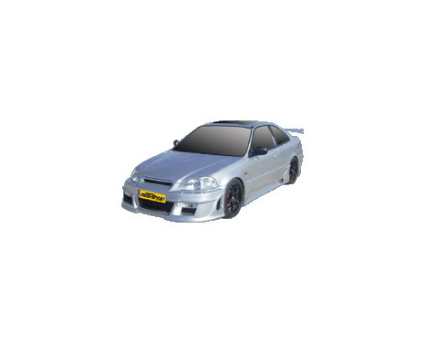 IBherdesign Front bumper Honda Civic 2/3-door 1996-1999 'Eagle R1'