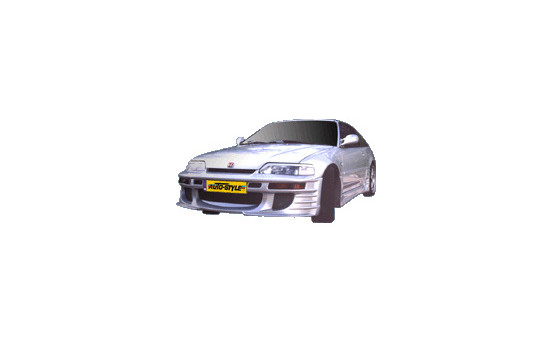 IBherdesign Front bumper Honda CRX 1988-1992 'Predator' Excl. VTec