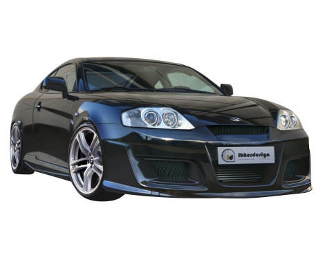 IBherdesign Front bumper Hyundai Coupe 2002- 'Outlaw'