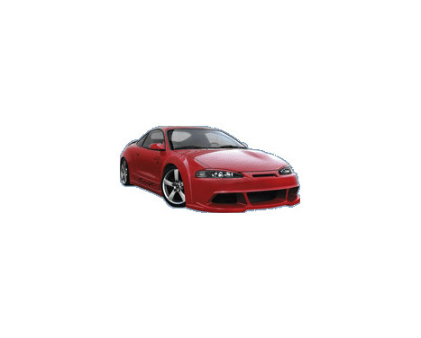 IBherdesign Front bumper Mitsubishi Eclipse 1995-1997 'Rebel', Image 2