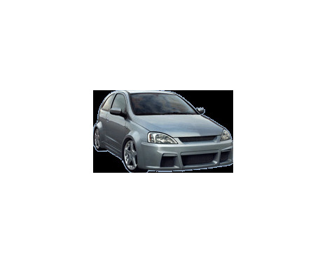 IBherdesign Front bumper Opel Corsa C 9 / 2000- 'Hypnosis'