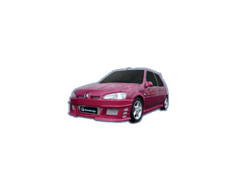 IBherdesign Front bumper Peugeot 106 MKII 1996- 'Icon GT'