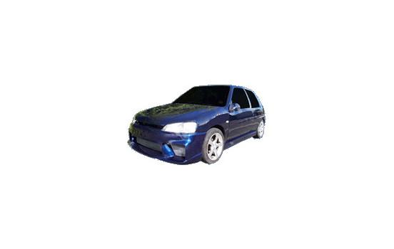 IBherdesign Front bumper Peugeot 106 MKII 1996- 'Wizard' Incl. Mesh