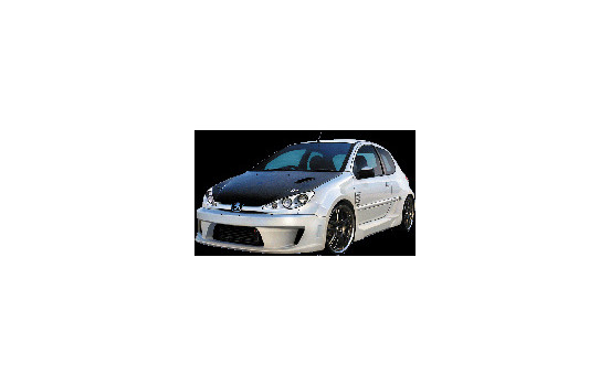 IBherdesign Front bumper Peugeot 206 'Xodos Wide' VPE20
