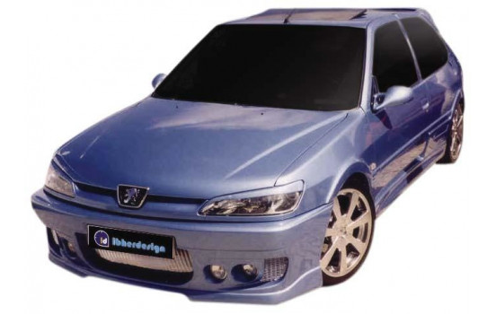 IBherdesign Front bumper Peugeot 306 Phase I 'Probe' Incl. Mesh / lamps