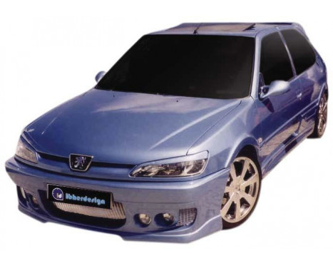 IBherdesign Front bumper Peugeot 306 Phase II 'Probe' Incl. Mesh / lamps
