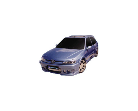 IBherdesign Front bumper Peugeot 306 Phase II 'Probe' Incl. Mesh / lamps, Image 2