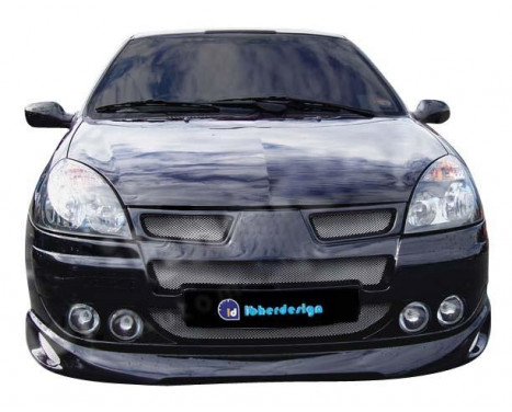 IBherdesign Front bumper Renault Clio III 2001- 'Atmo-Evo' Incl. Lamps