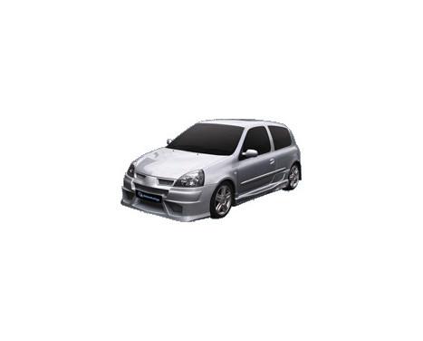 IBherdesign Front bumper Renault Clio III 2001- 'Warp'