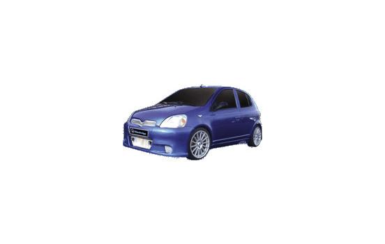 IBherdesign Front bumper Toyota Yaris 2003-2006 'K-18'