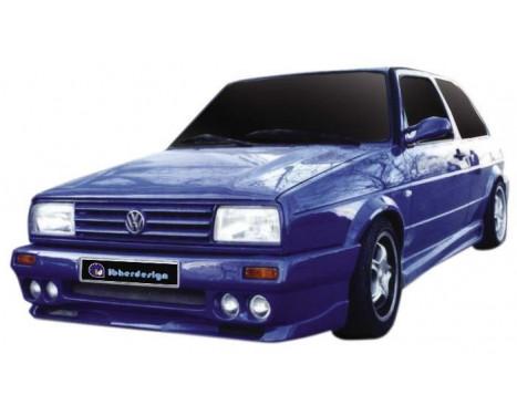 IBherdesign Front bumper Volkswagen Golf II 'Conflict' Incl. Lamps / mesh