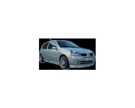 Carcept Front spoiler Renault Clio II 2001-