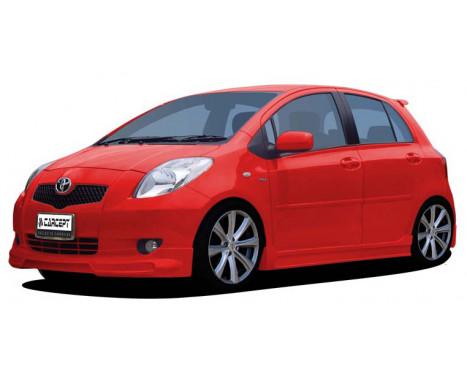 Carcept Front spoiler Toyota Yaris II 2006-, Image 2