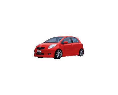 Carcept Front spoiler Toyota Yaris II 2006-
