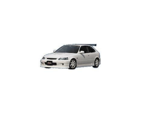 Chargespeed Front spoiler Honda Civic EC 2/3/4-door 1999-2001 (FRP)