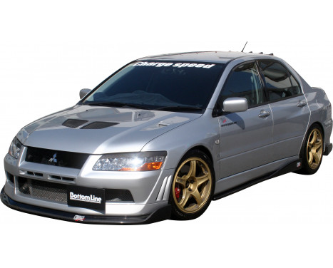 Chargespeed Front spoiler Mitsubishi Lancer EVO 7 CT9A BottomLine (FRP), Image 2