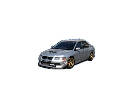 Chargespeed Front spoiler Mitsubishi Lancer EVO 7 CT9A BottomLine (FRP)