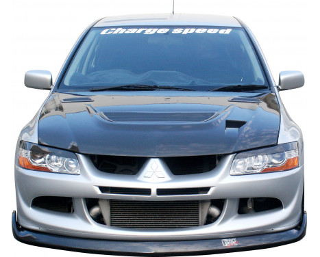 Chargespeed Front spoiler Mitsubishi Lancer EVO 8 CT9A BottomLine (FRP), Image 2