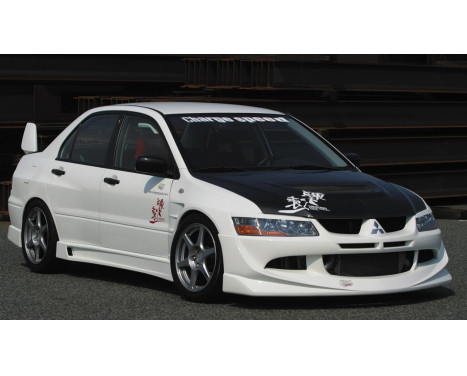 Chargespeed Front spoiler Mitsubishi Lancer EVO 8 CT9A